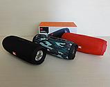 Бездротова Bluetooth колонка JBL Charge 3+ (червона), фото 2