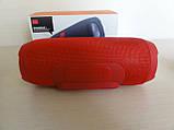Бездротова Bluetooth колонка JBL Charge 3+ (червона), фото 5