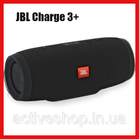 Бездротова Bluetooth колонка JBL Charge 3+ (чорна)