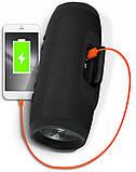 Бездротова Bluetooth колонка JBL Charge 3+ (чорна), фото 7