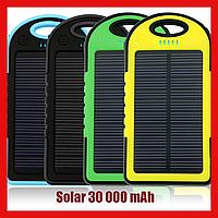 Power Bank Solar 30 000 mAh на солнечной батарее, фото 1