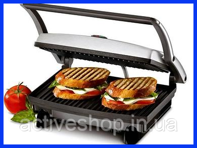 Контактный гриль Rainberg RB-5401, 1500 Вт (сэндвичница, бутербродница)