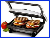 Контактный гриль Rainberg RB-5401, 1500 Вт (сэндвичница, бутербродница), фото 1