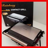 Контактный гриль Rainberg RB-5402, 2200Вт ( сэндвичница, бутербродница)