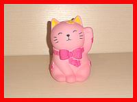 Игрушка антистресс сквиш котенок