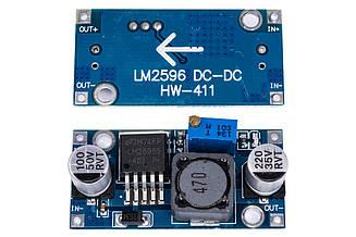 Регулятор напряжения LM2596S 1.25-35V 3A понижающий