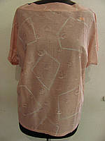 Блуза летняя, очень легкая, льняная (р-р универ) цвета в ассортименте. код 1327М