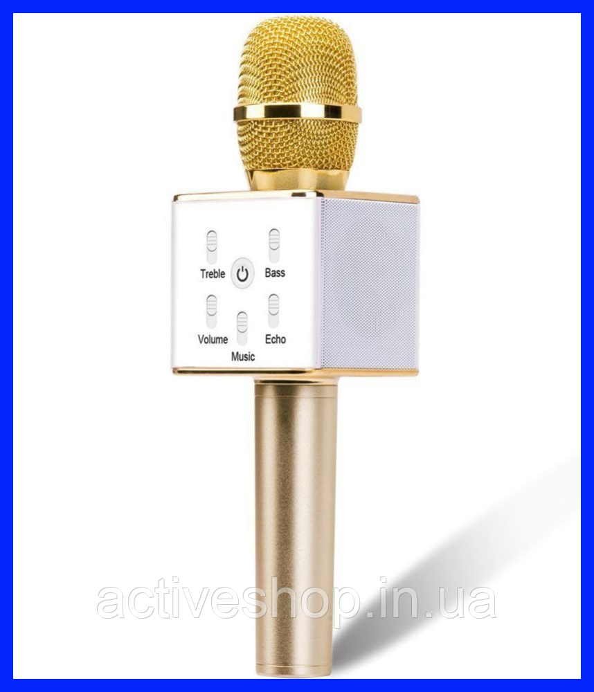 Беспроводной микрофон-караоке bluetooth Q7
