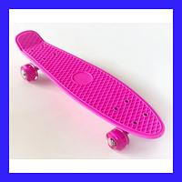 Пенни борд (пенниборд) 2231 Penny Board розовый, фото 1
