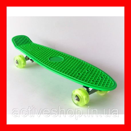Пенни борд 2231 (пенниборд) Penny Board зеленый