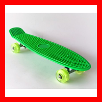 Пенни борд 2231 (пенниборд) Penny Board зеленый, фото 1