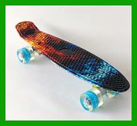 Пенни борд 2251 Penny Board Огонь Лед