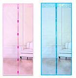 Москітна сітка на магнітах для дверей і вікон, фото 4