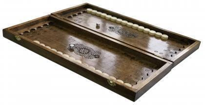 Нарды деревянные ручной работы Newt Backgammon 1, фото 2