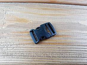 Фастекс пластиковый 018235 15мм цвет черный