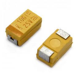 D case 10uf 35v ±20% Chip Tantal SMD - Samsung & AVX