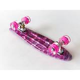 Пенні скейт борд пенниборд 231B Penny Board Галактика, фото 2