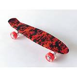 Пенні скейт борд пенниборд 231B Penny Board Галактика, фото 6