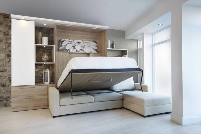 Шкаф-кровать с диваном 160*200 см, фото 2