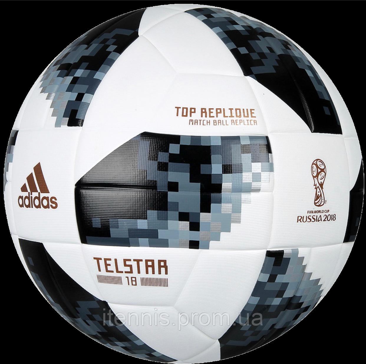 Футбольный мяч Adidas Telstar size 5 и 4