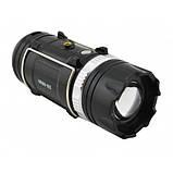 Аккумуляторная кемпинговая LED лампа Sheng Ba SB 9699 Фонарь ручной мощный, фото 4