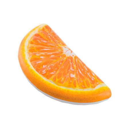 "Intex Матрас 58763 EU (6) ""Апельсин"" оранжевый, 178 х 85 см, от 12-ти лет"
