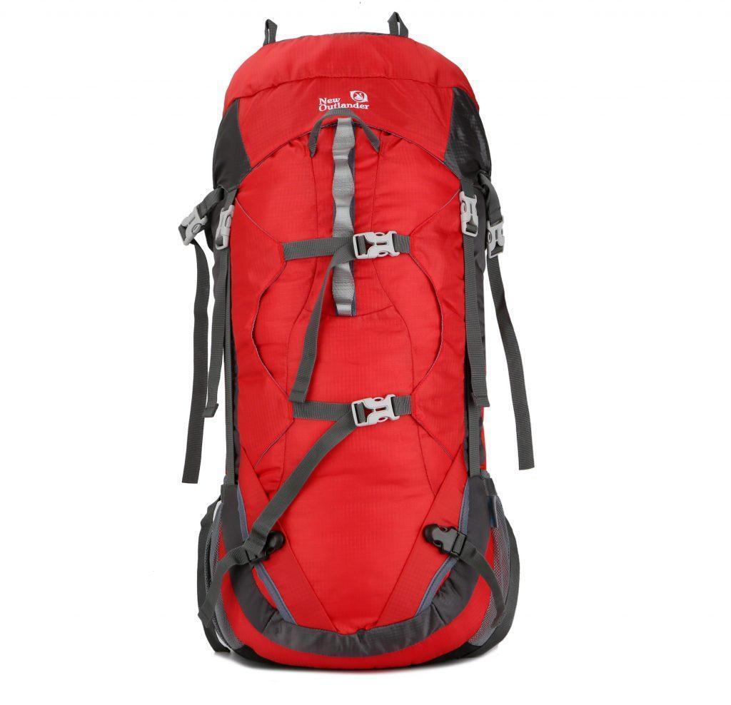 Рюкзак для путешествий ручная кладь 55 л New Outlander красный (AV 1002)