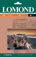 Фотобумага Lomond 230 г/м, матовая, 210х148, 50 л