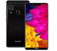 "Телефон Sharp Aquos S3 4/64GB Black 6"" (2160x1080) / NFC / Snap 630 / 12Мп / 3200мАч чехол+наушники, фото 1"