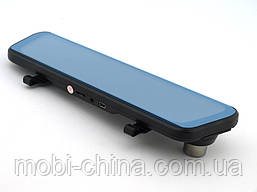 """Car DVR H10 зеркало регистратор, сенсорный экран 9.66"""", две камеры, фото 2"""