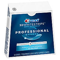 Отбеливающие полоски Crest 3D Whitestrips Professional Express