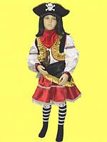 Пиратка-разбойница. 98-146 см. Детские карнавальные костюмы