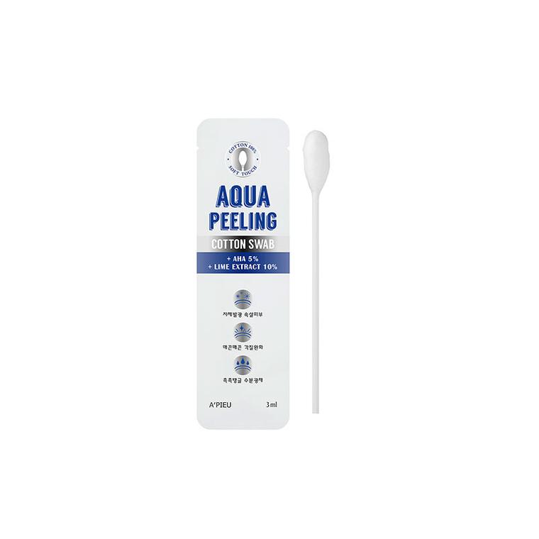 Пилинг кислотный A'PIEU Aqua Peeling Cotton Swab (Intensive), оригинал, фото 2