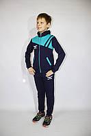 Стильный спортивный трикотажный детский костюм для мальчика (Украина) , 98-104-110-116 рост