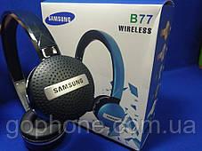 Беспроводные Bluetooth наушники Samsung B77 Black, фото 3