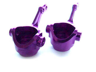 (02131) Purple Alum Steering Hubs 1SET