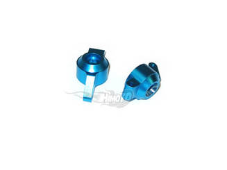 (82904) Blue Alum Rear Uprights 2P