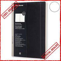Блокнот Moleskine Workbook A4 нелинованный черный PROWB53SBK