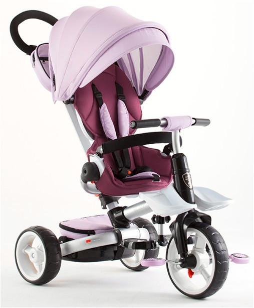 Детский трехколесный складной велосипед  Rosa T-600  (очень легкий)