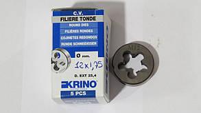 Плашка М12х1,75 HSS для метрической резьбы KRINO-12005 Италия
