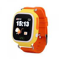 Смарт-часы сGPS, Wi-Fi, Smart Baby Watch Q90 Оранжевые