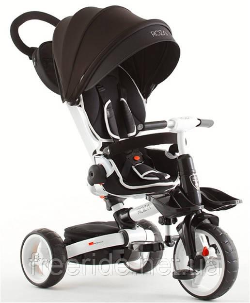 Детский трехколесный складной велосипед ROZA T-600 (