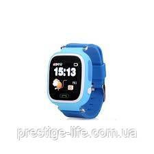 Смарт-часы сGPS, Wi-Fi, Smart Baby Watch Q90 Голубые