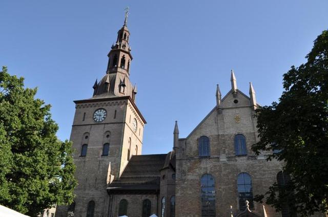 осло норвегия кафедральный собор