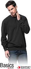 Блуза мужская ST4000. 80% хлопка 20% полиэстера STEDMAN