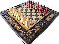 """Шахматы """"Рыцарь"""" ручная работа ,резьба по дереву"""