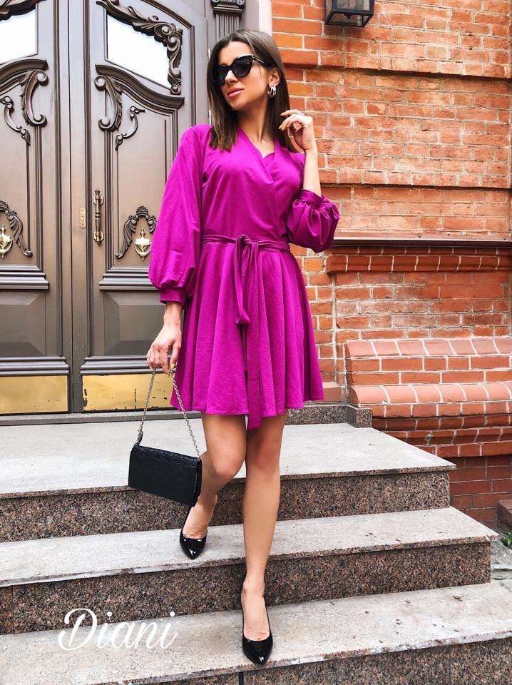 """Сукня """"Stileo льон"""", тканина: льон. Розмір: 42-46 .Різні кольори (6455)"""