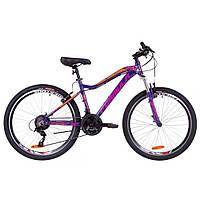 """Велосипед 26"""" Formula MYSTIQUE 2.0 AM 14G  Vbr  рама-13,5"""" Al фиолетово-оранжевый   2019"""