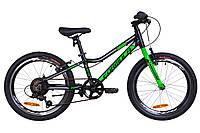 """Велосипед 20"""" Formula ACID 1.0 14G Vbr рама-10"""" Al черно-зеленый (м) 2019"""