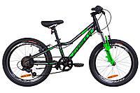 """Велосипед 20"""" Formula ACID 1.0 AM 14G Vbr рама-10"""" Al черно-зеленый (м) 2019"""